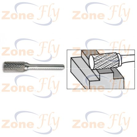 Dental Burs Cylindrical