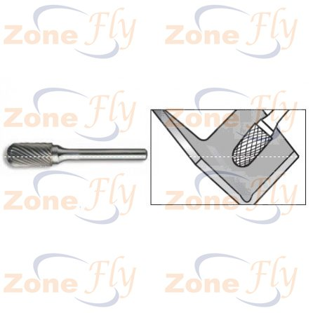 Dental Burs Cylindrical End Cut