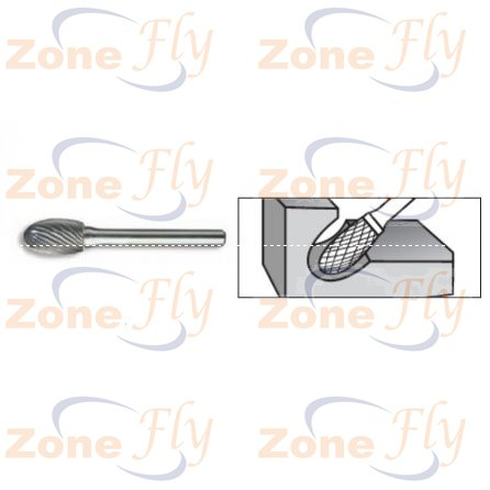 Dental Burs Oval