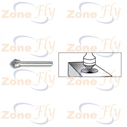 Dental Burs 90° Cone