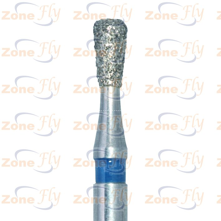 Dental Burs convex end, rounded edges