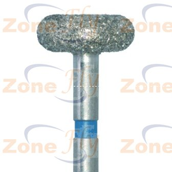 Dental Burs Wheel Rounded rim